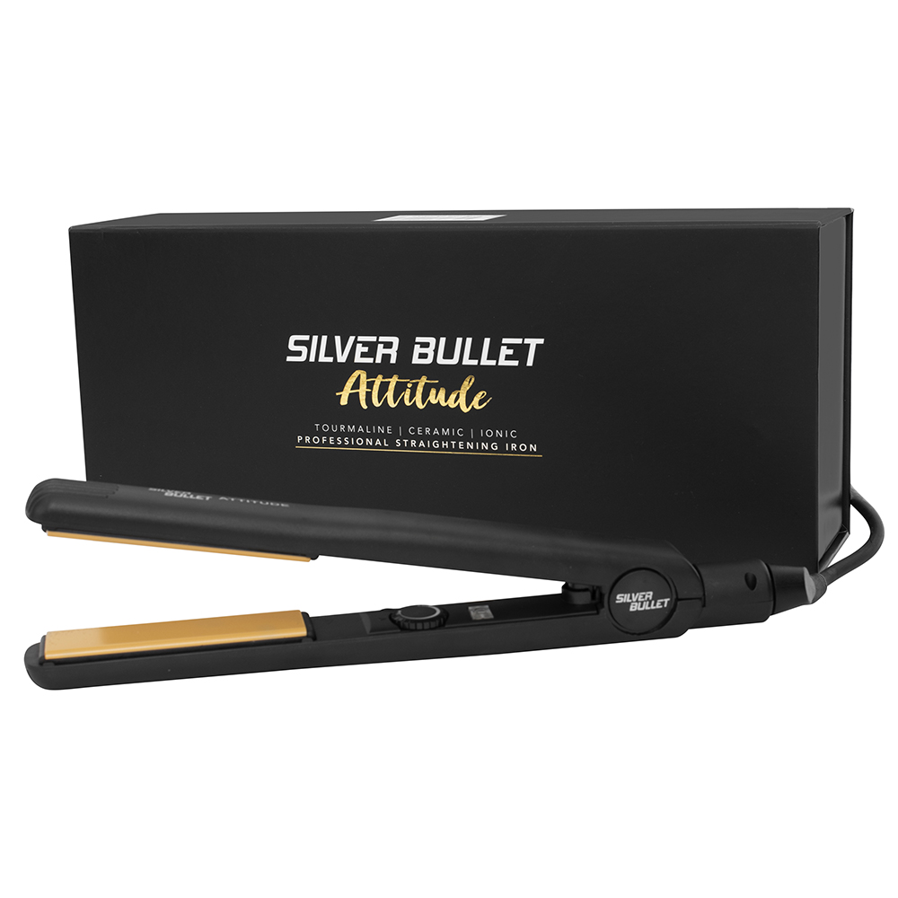 Silver Bullet Attitude Hair Straightener Packaging