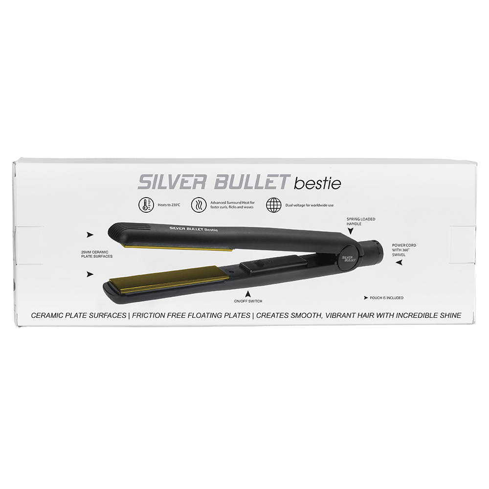 Silver Bullet Bestie Hair Straightener Features