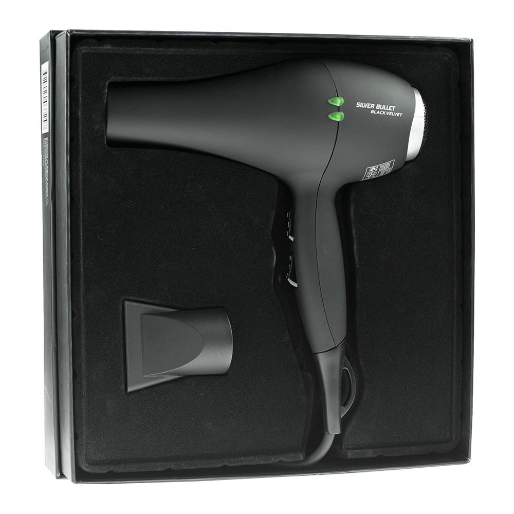 Silver Bullet Black Velvet Professional Hair Dryer