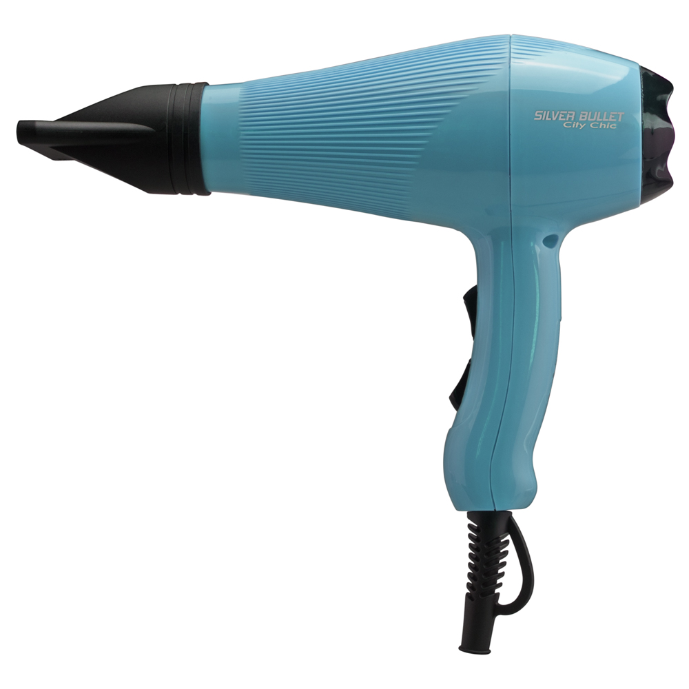 Silver Bullet City Chic Hair Dryer in Aqua