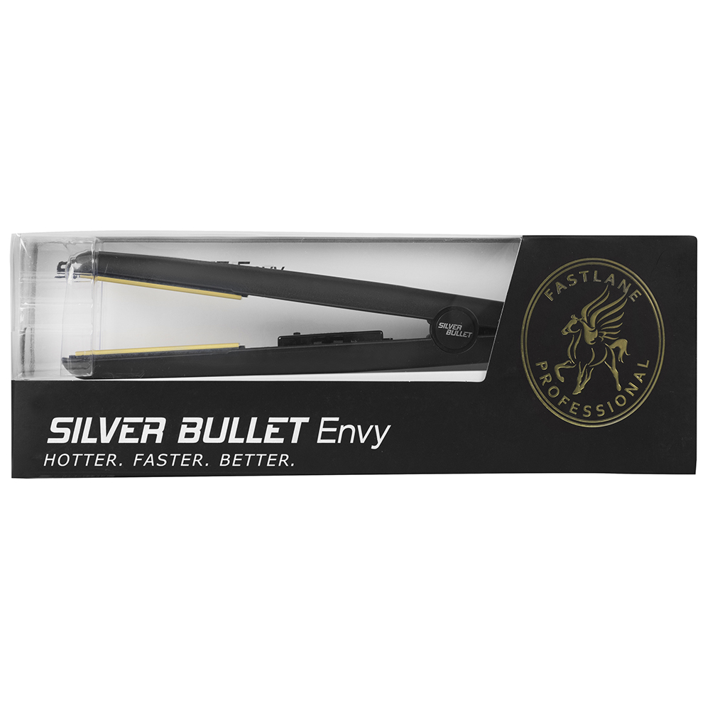 Silver Bullet Fastlane Envy Hair Straightener Packaging
