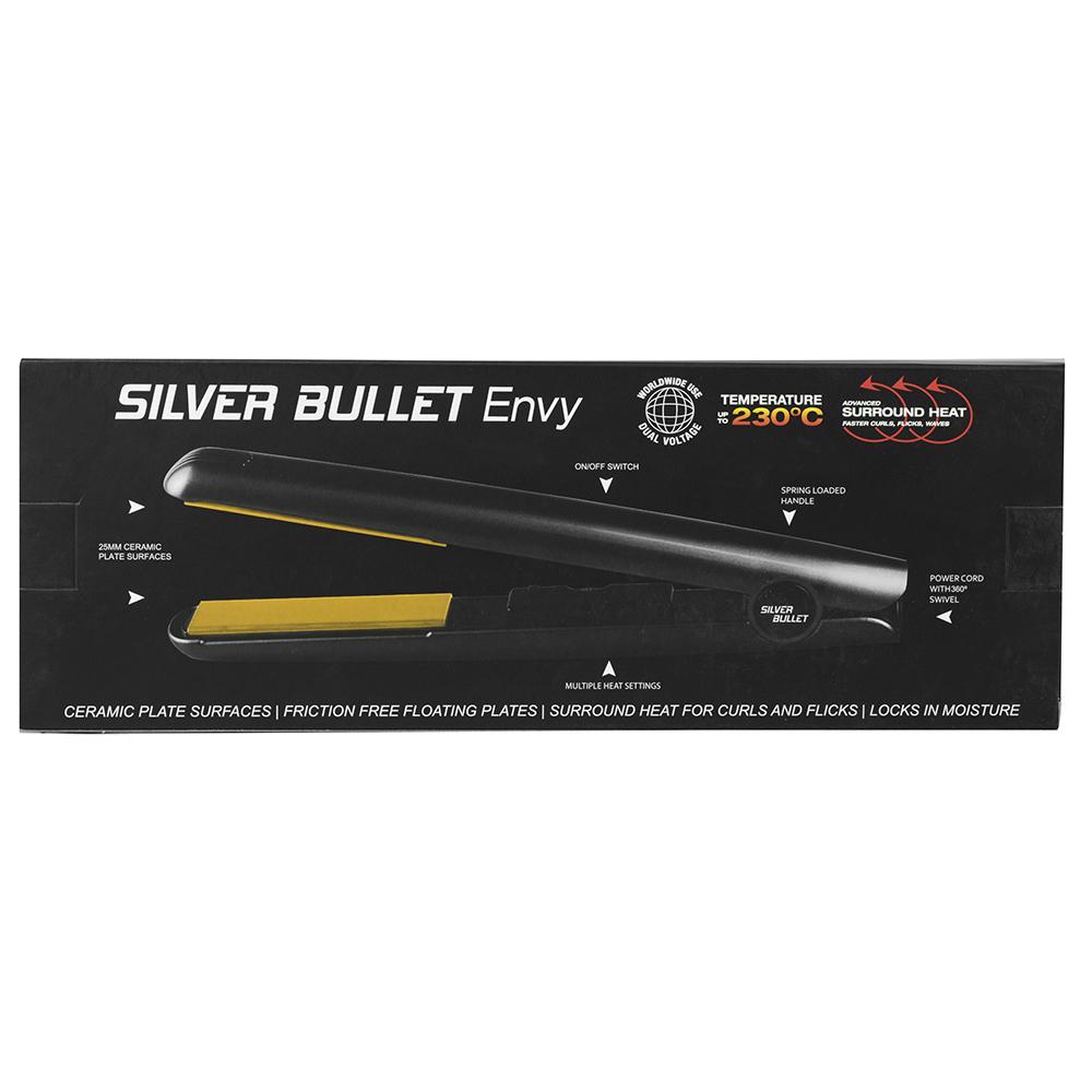 Silver Bullet Fastlane Envy Hair Straightener Features
