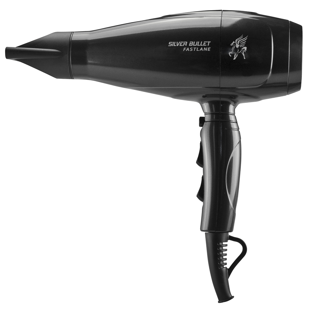 Silver Bullet Fastlane Hair Dryer with nozzle