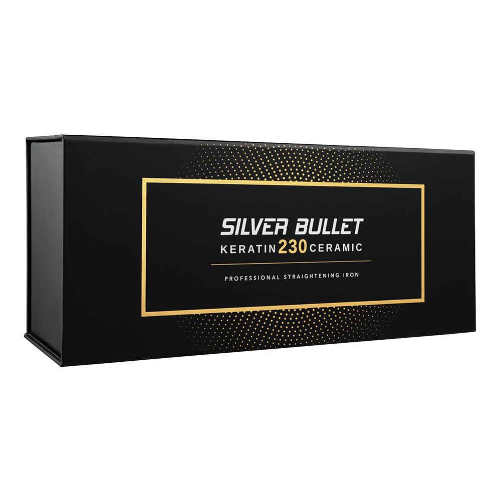 Silver Bullet Keratin 230 Ceramic Hair Straightener packaging