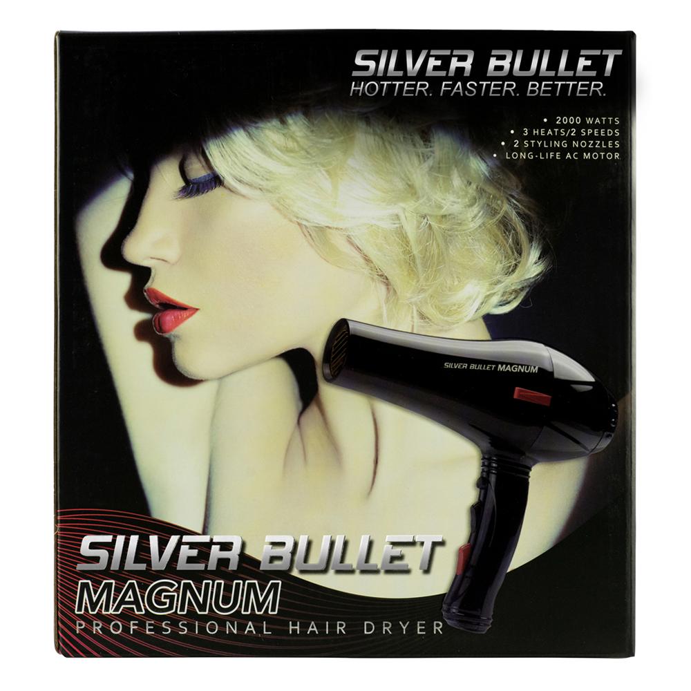 Silver Bullet Magnum Hair Dryer Packaging