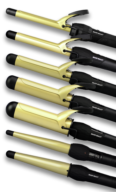 Silver Bullet Fastlane Ceramic Gold Curling Iron Official Site