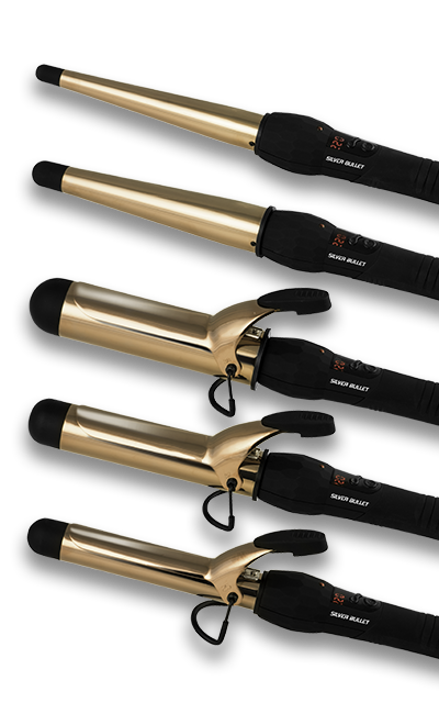 Silver Bullet Fastlane Titanium Rose Gold Curling Irons Official Site
