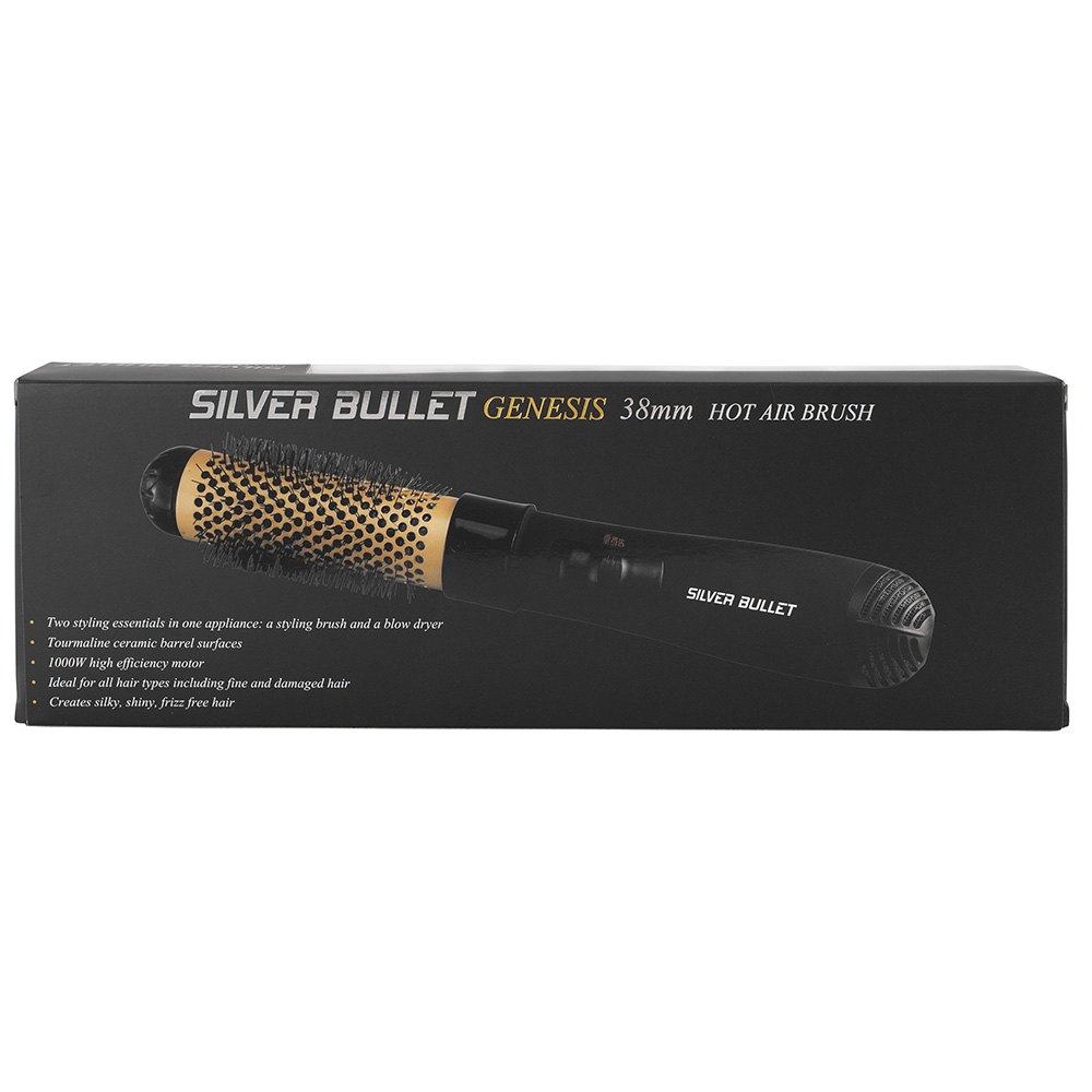 Silver Bullet Genesis Hot Air Brush packaging back