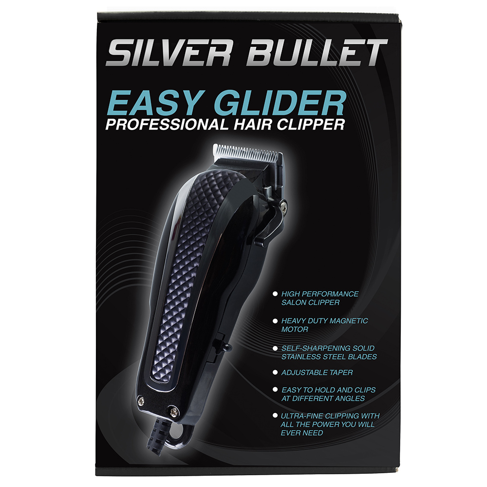 Silver Bullet Easy Gilder Hair Clipper Packaging