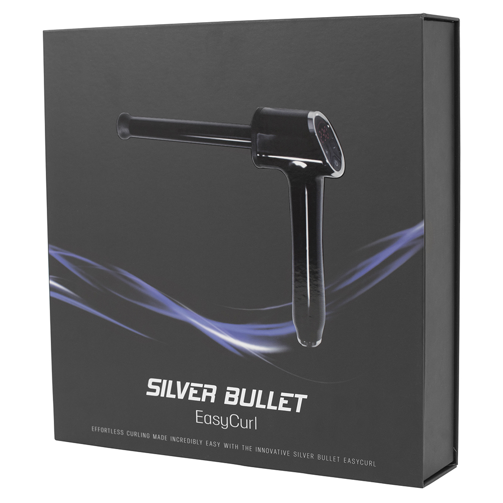 Silver Bullet EasyCurl Curling Iron Packaging