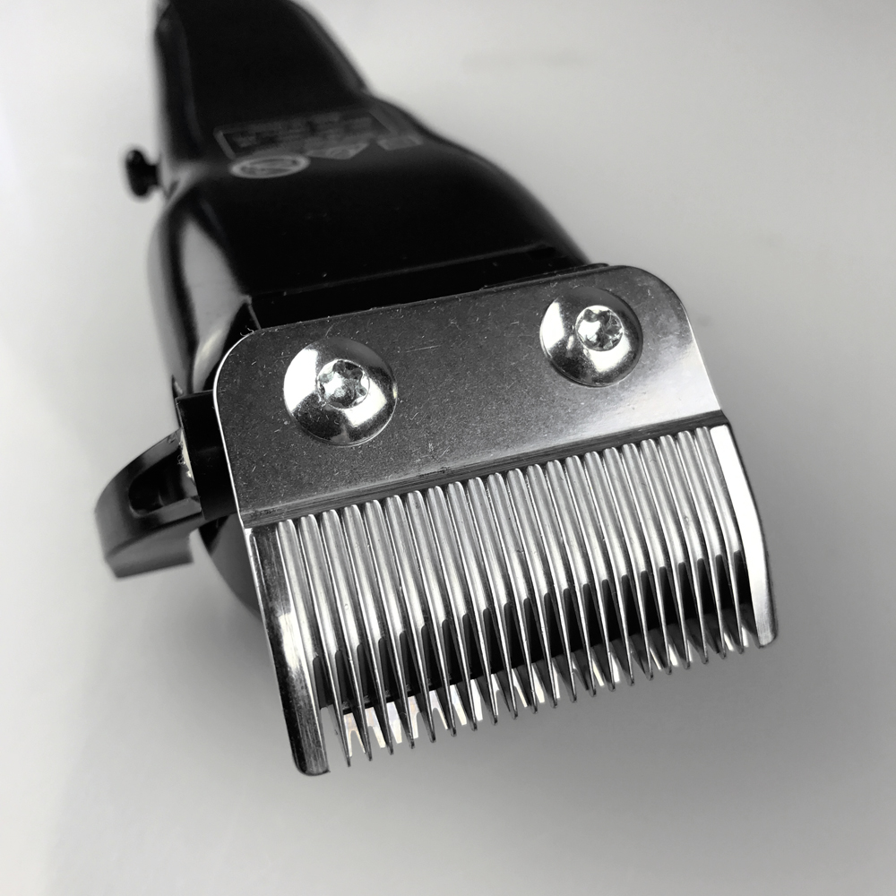 Silver Bullet Excelsior Hair Clipper Close Up of Blades