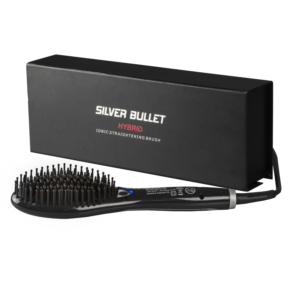 Silver Bullet Hybrid Ceramic Ionic Straightening Brush
