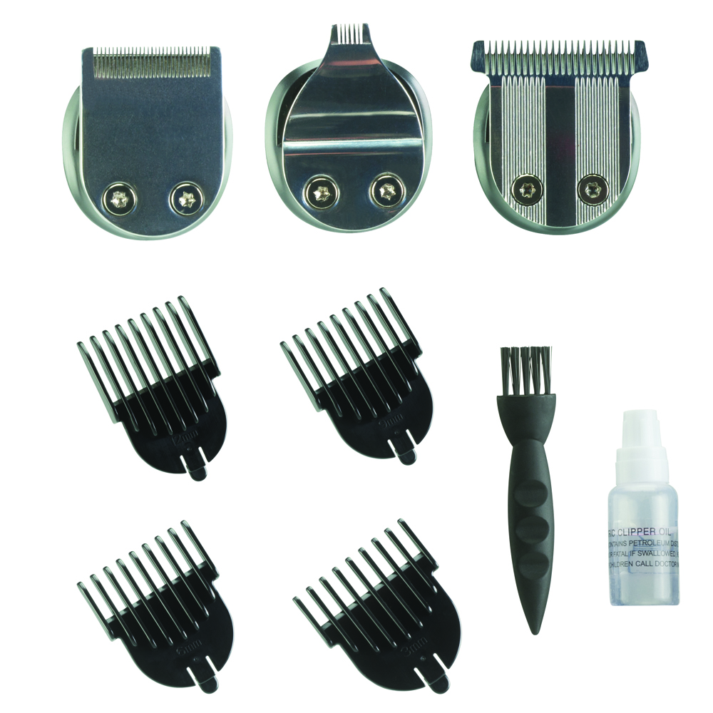 Silver Bullet Lithium Pro Hair Trimmer Accessories