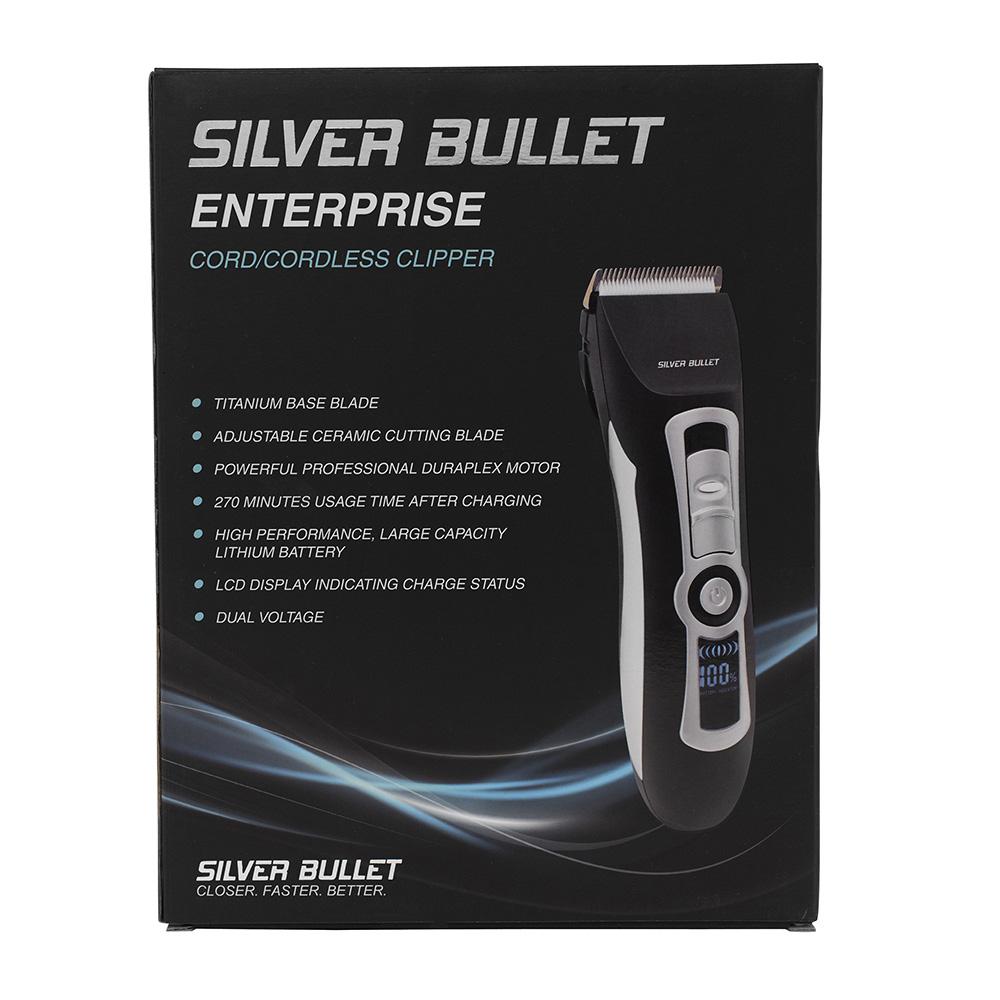 Silver Bullet Enterprise Cord Cordless Hair Clipper_2