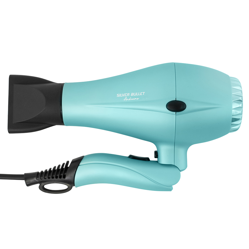 Silver Bullet Andiamo Foldable Travel Hair Dryer Nozzle