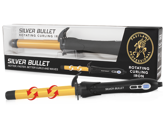 Silver Bullet Fastlane Rotating Curling Iron Home Page