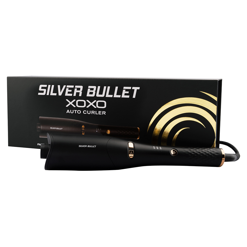 Silver Bullet XOXO Auto Curler ingeniously curls