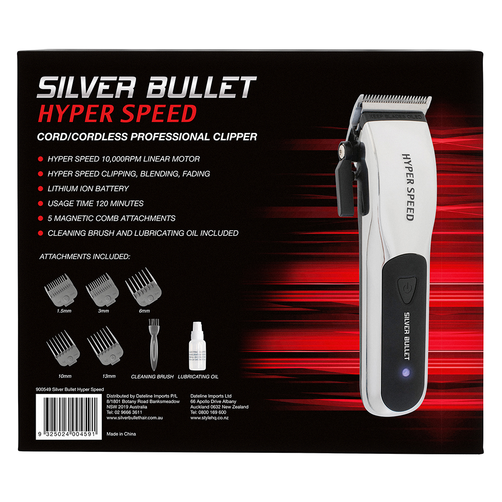 Silver Bullet Hyper Speed Clipper detail