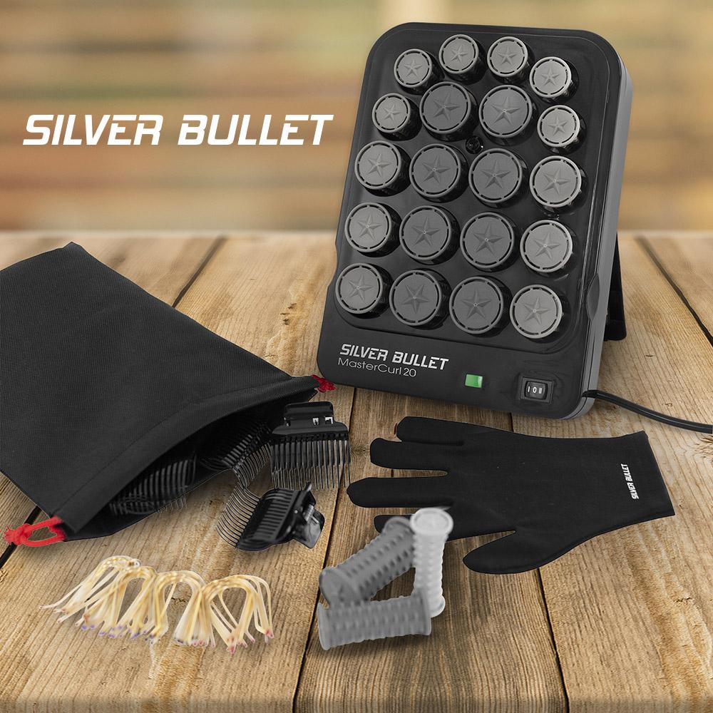 Silver Bullet MasterCurl 20 Ionic Hot Roller Set Hotter Faster Better