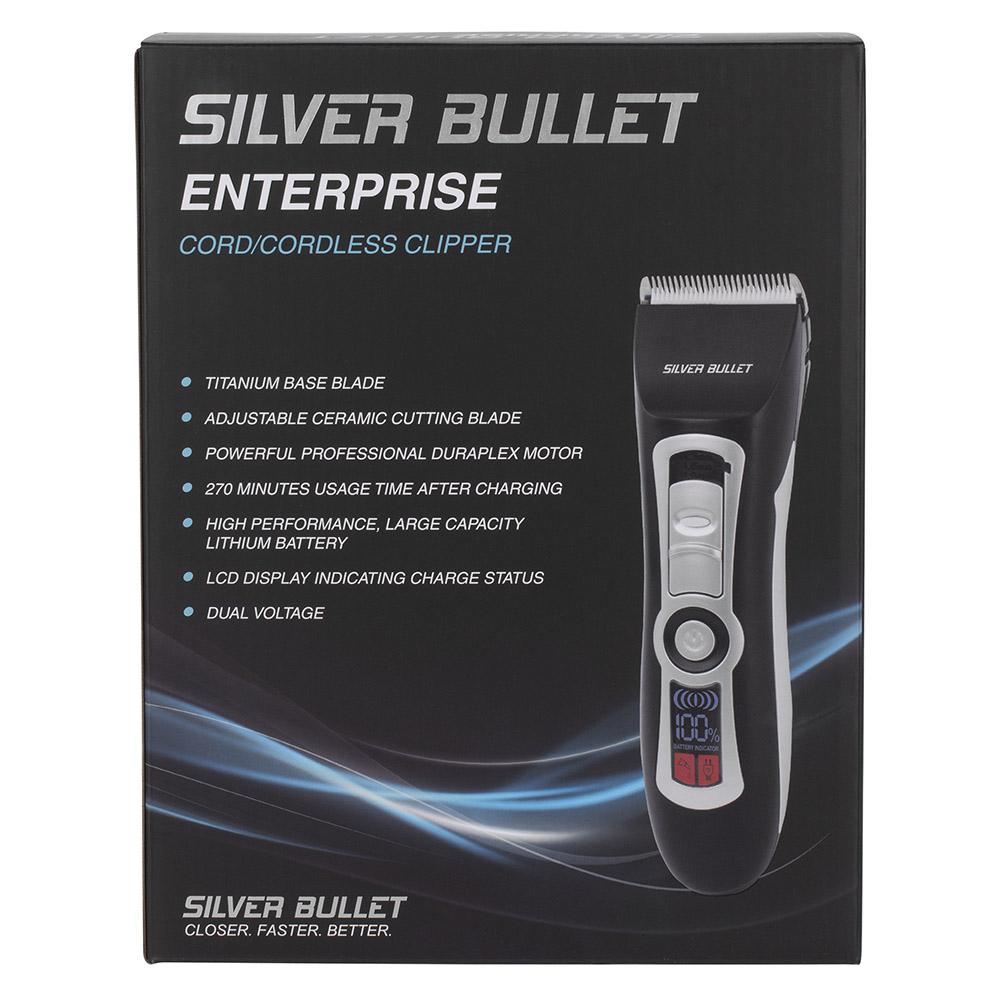 Silver Bullet Enterprise Cord Cordless Hair Clipper_packaging