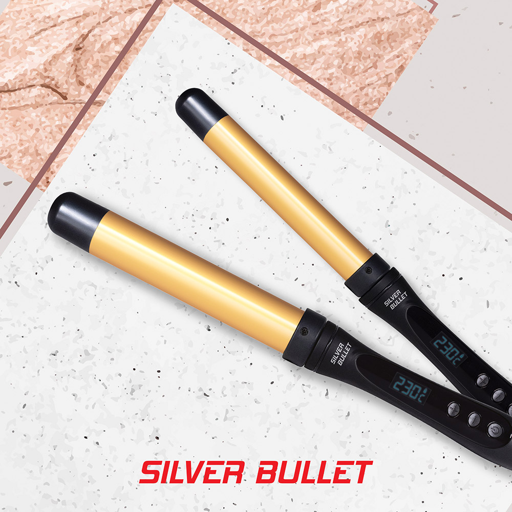 Silver Bullet Fastlane Curling Wand Features