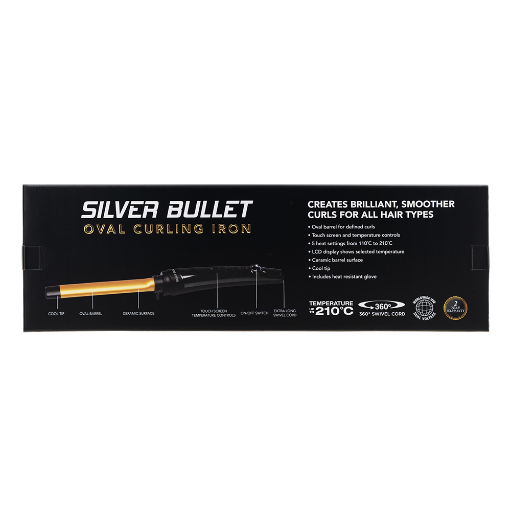Silver Bullet Fastlane Oval Curlers Features