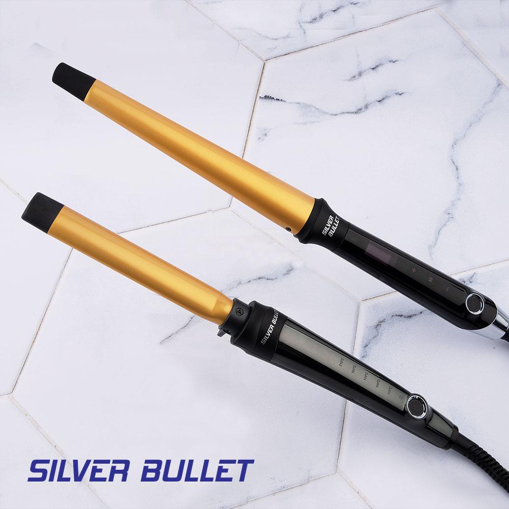 Silver Bullet Fastlane Oval Curlers Digital Display