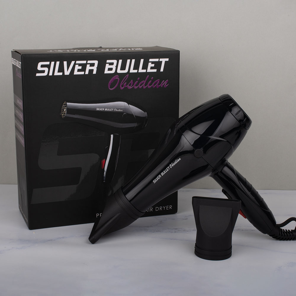 Silver Bullet Obsidian Hair Black Dryer