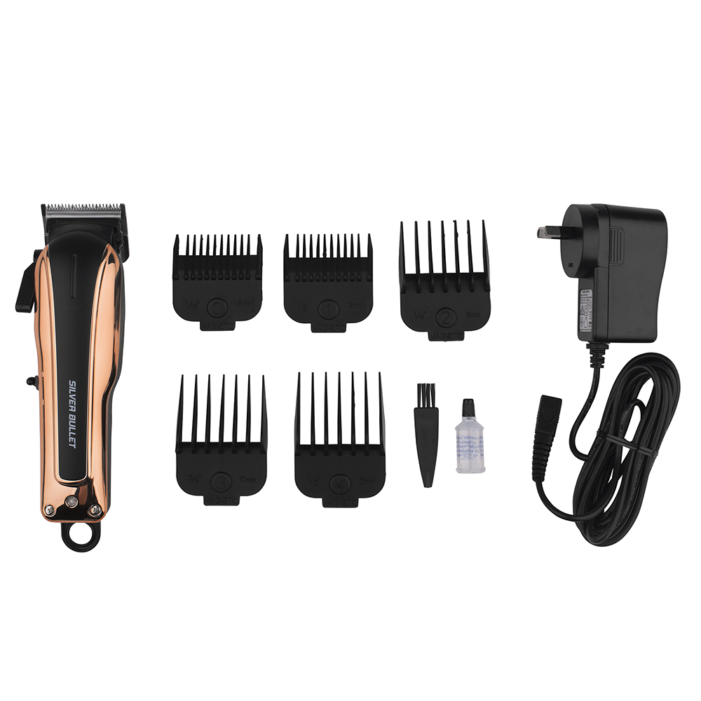 Silver Bullet Smooth Rider Hair Clipper pack