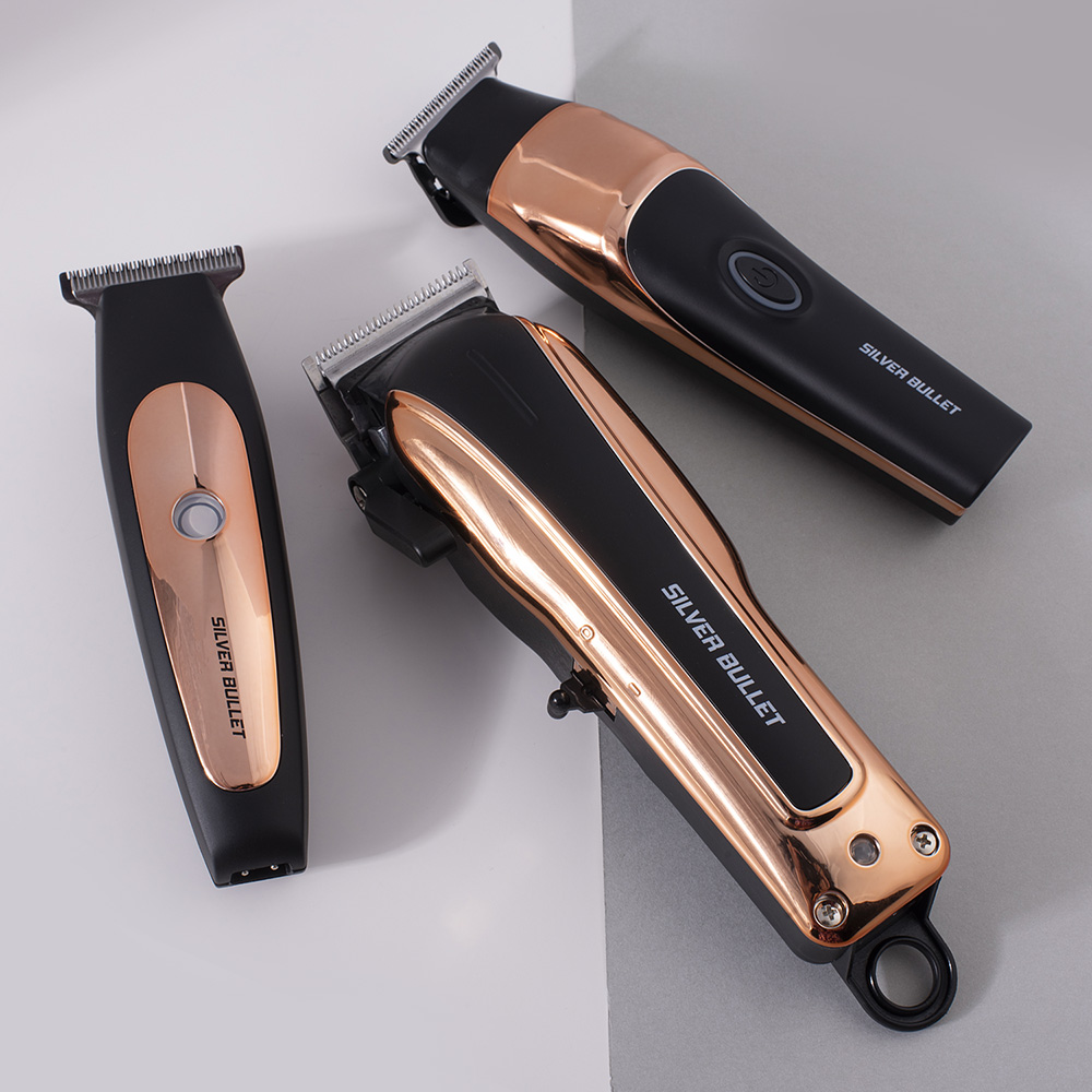 Silver Bullet Smooth Rider Hair Clipper styled
