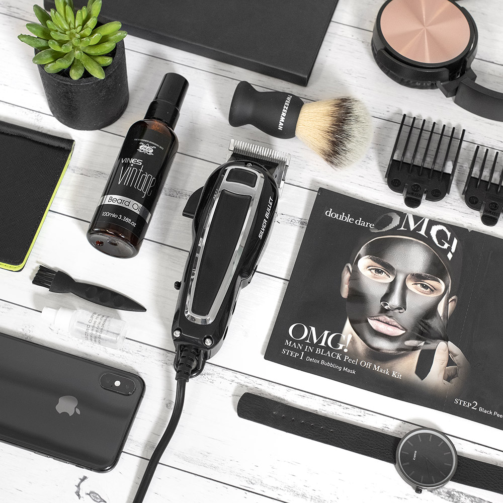 Silver Bullet SuperFast Hair Clipper styled