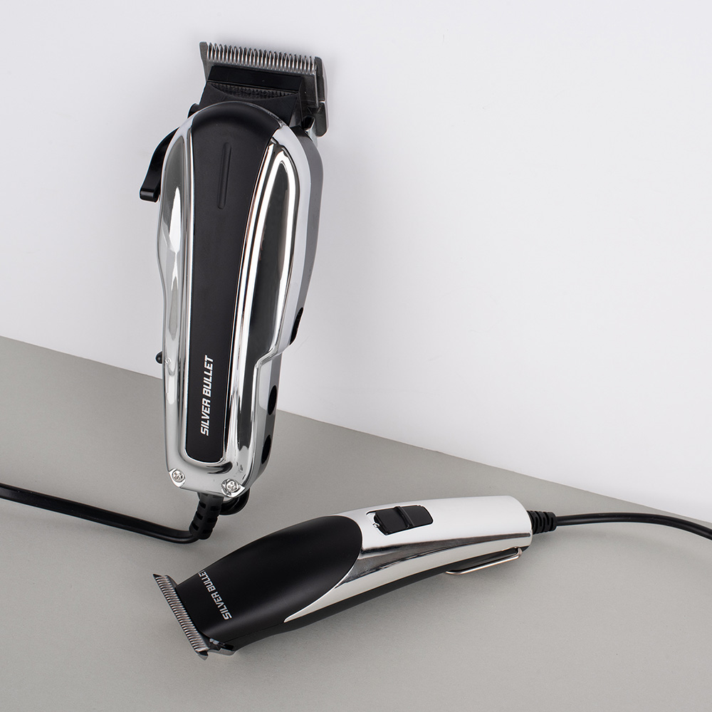 Silver Bullet Dynamic Duo Hair Trimmer and Clipper duo