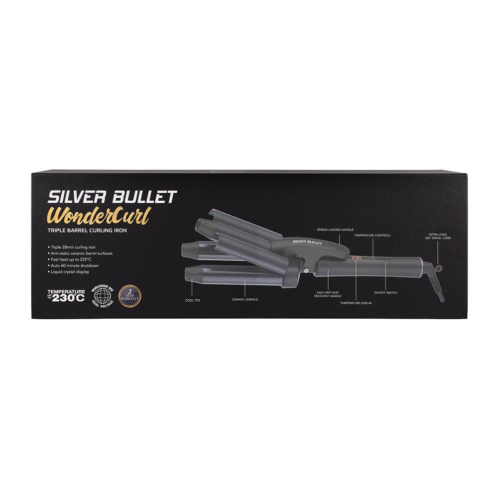 Silver Bullet WonderCurl Triple Barrel Curling Iron_4