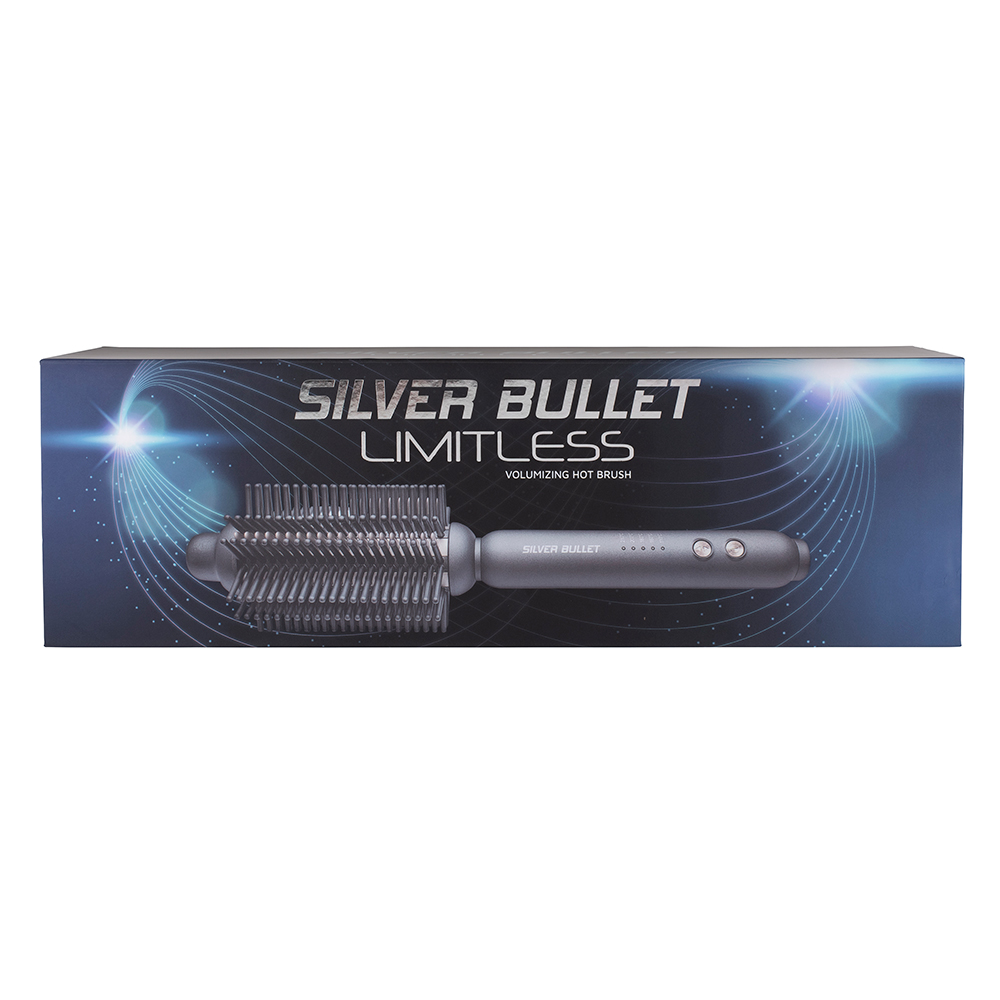 Silver Bullet Limitless Volumising Hot Brush feature