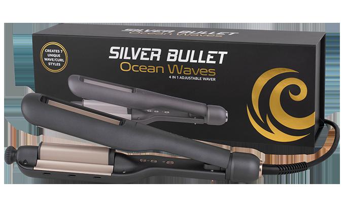 Silver Bullet Ocean Waves 4 in 1 Adjustable Waver