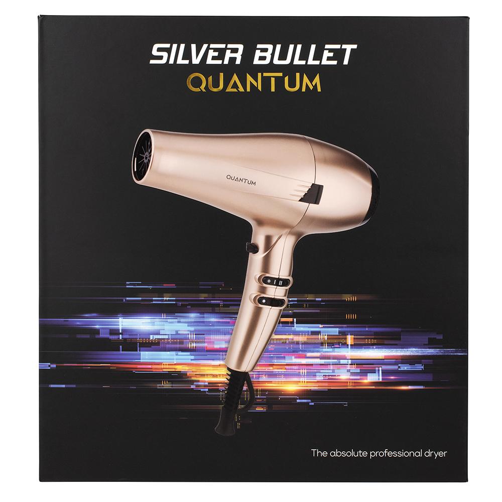 Silver Bullet Quantum Hair Dryer Gold packaging